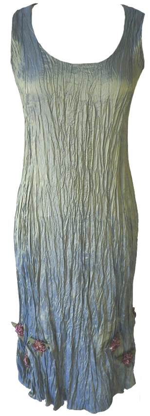 Galerry lace dress light blue